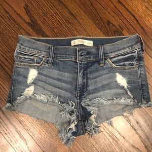 Abercrombie jeans shorts